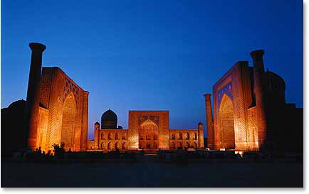"Samarkand, Marco Polo's ""most perfectly beautiful city"""