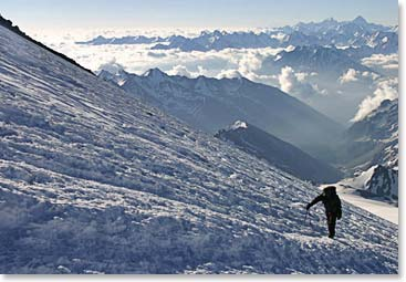Beautiful views of the Caucasus!