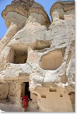 Exploring in Cappadoccia