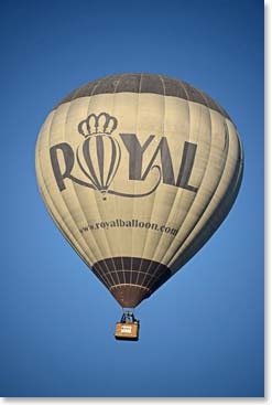 What better way to explore Cappadocia then from high above the region in a Balloon.