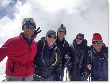Our third and final Summit team of the 2013 season. Great job to all our climbers!