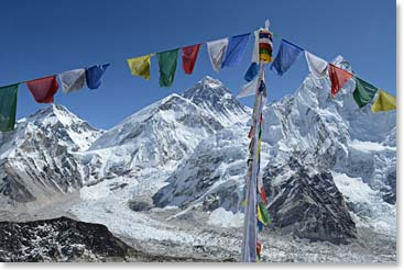 No wonder Kala Patar is a must on every Everest Base Camp Trek - look at that view!