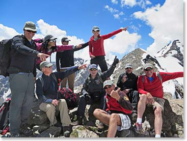 Which way to the summit of Mount Elbrus? Our summit team will show you the way on our photo recap
