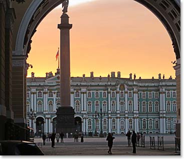"Experiencing the ""White Nights"" of St. Petersburg"