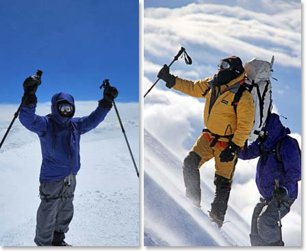 It was an incredible summit day on Mount Elbrus