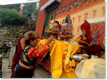 The young Rinpoche will carry on the traditions of Tulku