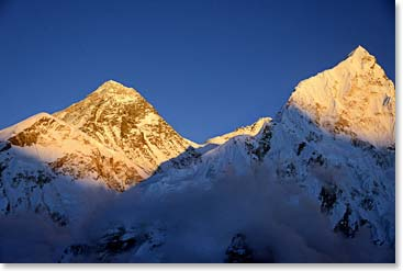 For your chance to see incredible views of Everest join us in April when we return for our base camp trek!