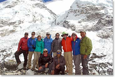 Our Fall 2014 Expedition team at Everest Base Camp