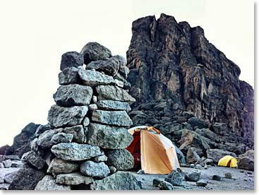 Camping at the Lava Tower