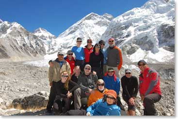 Wilderness Medicine Conference at Everest base camp photo