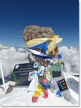 The Summit of Mount Elbrus – the highest point on continental Europe