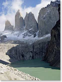 Towers in Torres Del Paine National Park