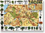 New Map of Northern Tanzania