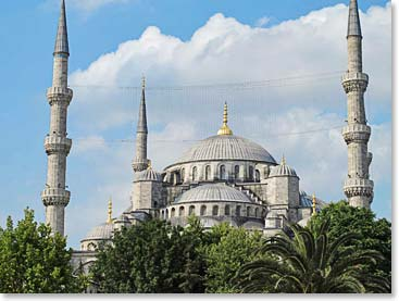 The majestic Hagia Sophia