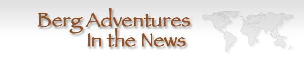 Title image: Berg Adventures In the News