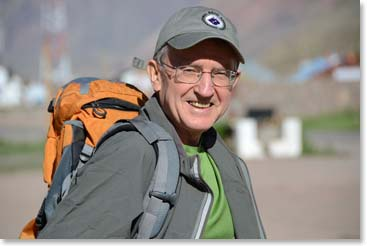 Aconcagua climber Howard Stockburger