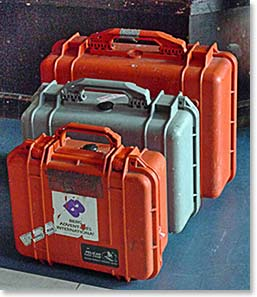 To be prepared for possible injuries carrying Medical Kits, like BAI's pelican cases, is always a good idea!