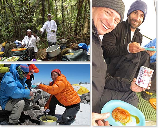 On any mountain adventure, having a good hearty meal with the right nutrients is essential! Just ask BAI climbers!