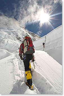 Kit Deslauriers - Berg Adventures 2006 Everest Expedition (photo courtesy of Jimmy Chin)