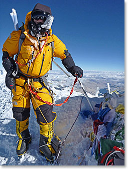 Steve Whittington - Berg Adventures 2013 Everest Expedition
