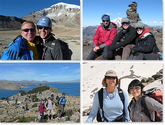 Follow Terri's training trips for your next great mountain adventure!