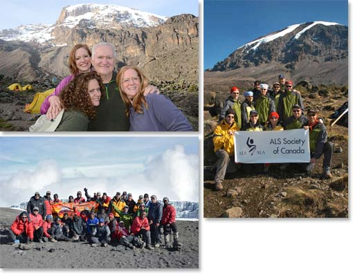 We operate climbs for groups both big and small; specialize in private trips, family groups, and charity climbs