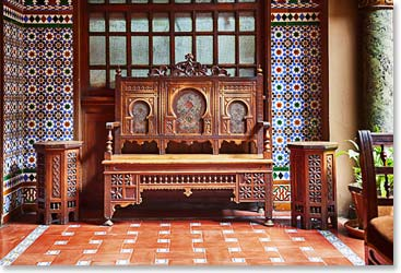 Beautiful Moroccan furniture