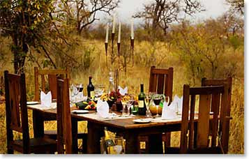 Dining in Treetops Lodge