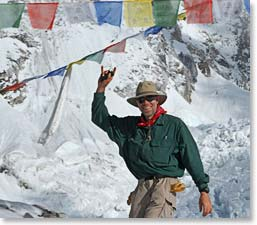 Reaching Everest Base Camp