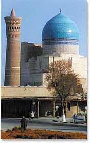 The fabled architecture of Bukhara