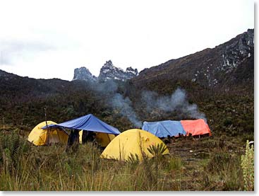 We will spend most of our evenings in tents along the river or in the high passes of the mountain.
