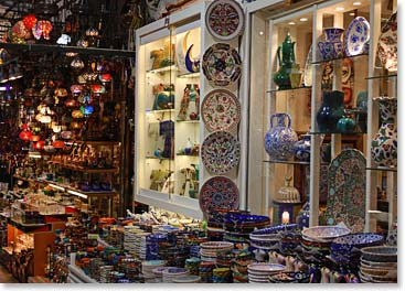 Items for sale at the Grand Bazaar