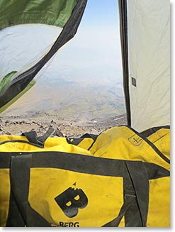 Base Camp on Mount Ararat