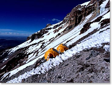 High Camp on Sajama