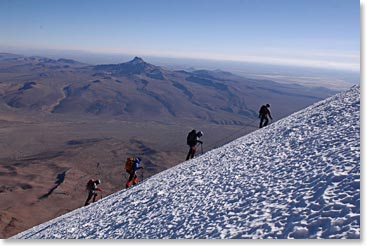 Sajama summit day