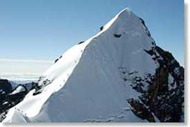 Summit Ridge of Alpamayo