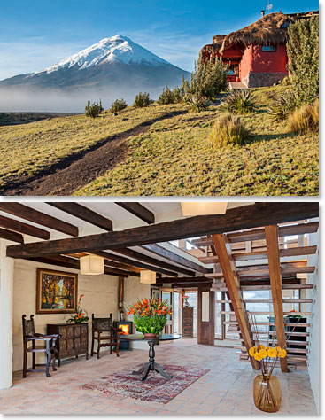Our mountain lodge Tambopaxi
