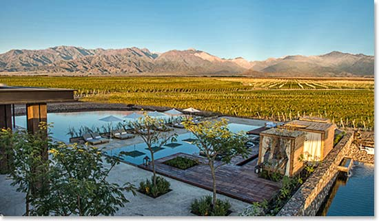 Share the magic of Argentina at the Vines Resort and Spa - South America's finest resort, set on 1500 acres of private vineyards