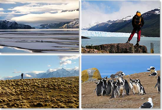 Spectacular views of Patagonia scenery