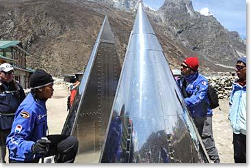 gorak shep to everest base camp