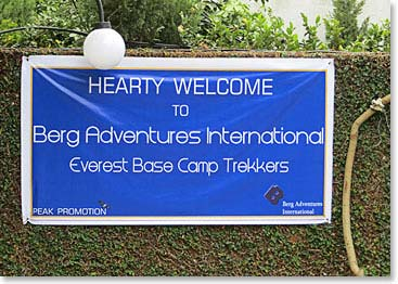 Everest Base Camp Dispatch: October 10, 2012 – A Hearty