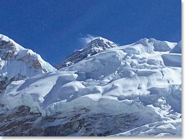 Everest Base Camp Dispatch October Team Vancouver - Our current altitude